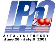 IPhO 2001 logo