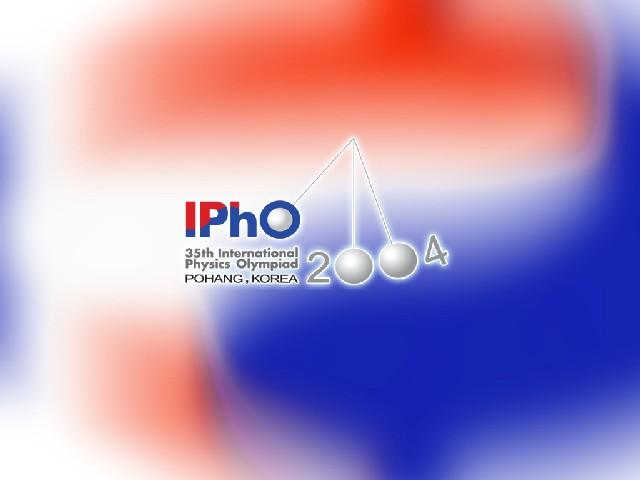 IPhO 2004 logo