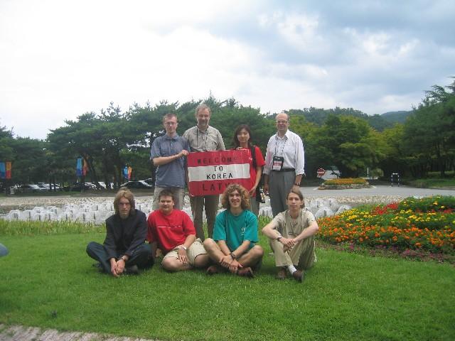 IPhO 2004 izlase