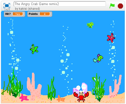 Angry Crab game