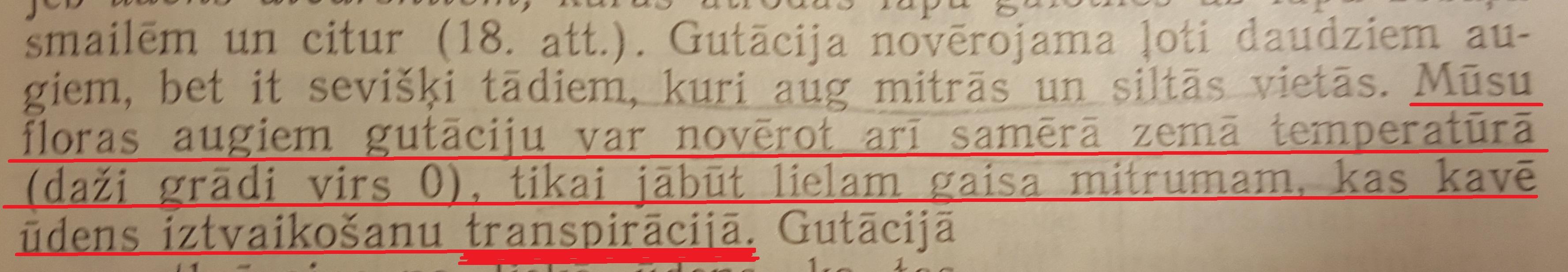 """H.Mauriņa """"Augu fizioloģija"""" 61.lpp"""